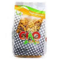 """Низкоуглеводные протеиновые макароны CiaoCarb """"Трубочки"""", 250 г"""