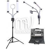 Профессиональная Fill Light FT-450 лампа с штатив-треногой, зеркалом, крепежом
