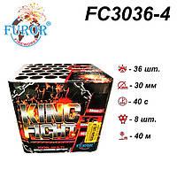 FC3036-4 King Fight фейерверк (36 постр, калібр 30 мм, Furor)
