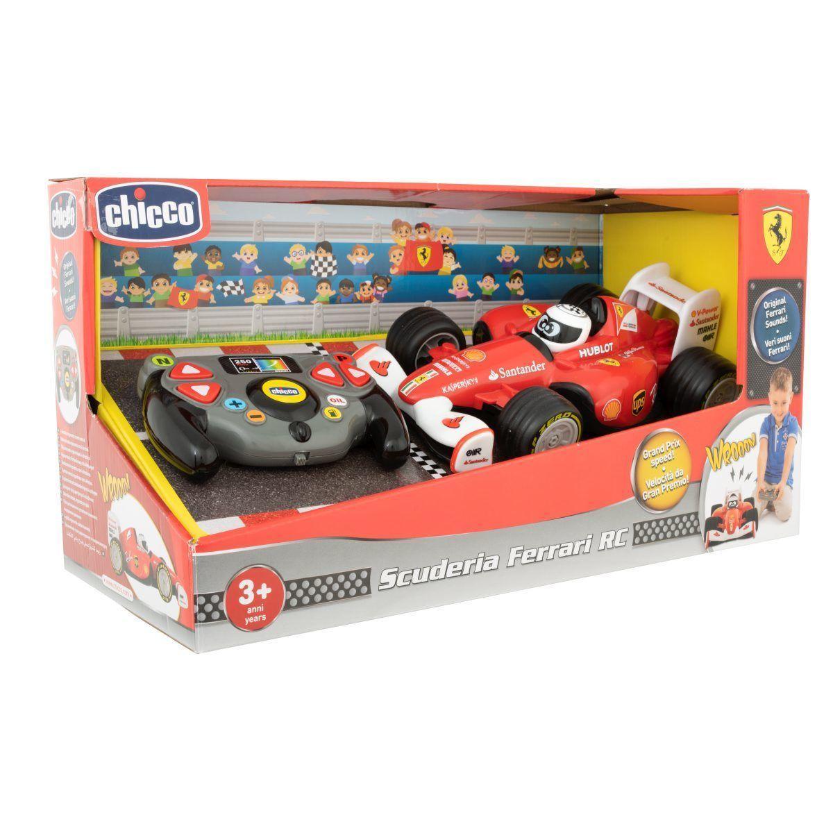 Машинка на радио управлении «Гонки Ferrari» Chicco 94134