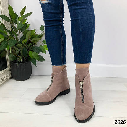 Ботинки женские мода, фото 2