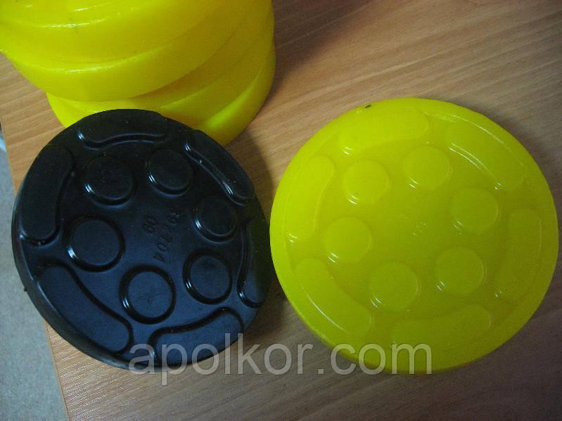 Накладки на лапы подъёмников из полиуретана