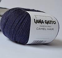 Lana Gatto Camel hair Темно-синий