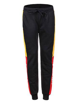 Оригинальные Мужские Спортивные Штаны MRT-9324 Black/Yellow/red, фото 2