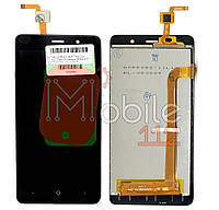 Модульный дисплей Bravis A504 Trace, Leagoo M5, Assistant AS-5433 S-Tell M511 Экран + тачскрин ЧЕРНЫЙ