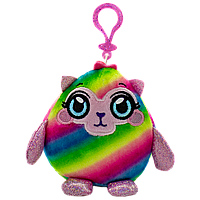 Мягкая игрушка-антистресс MUSHMEEZ - ГЛАМУРНАЯ ЛАМА (6 cm, на клипсе)