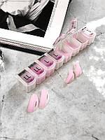 Комплект бигуди для ламинирования ресниц (8 пар)с насечками, LASH SECRET