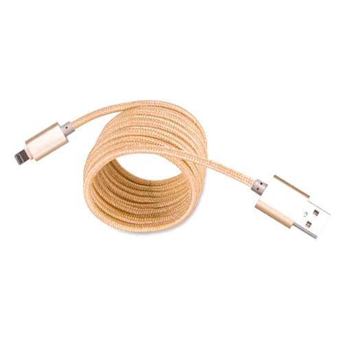 USB дата кабель Lightning 1.4м для Apple Iphone 5 5C 5S 6 6s 7 plus, Premium