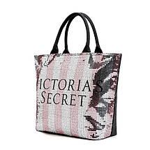 Сумка женская пляжная, городская, спортивная Victoria s Secret (Виктория Сикрет) VS65, фото 3