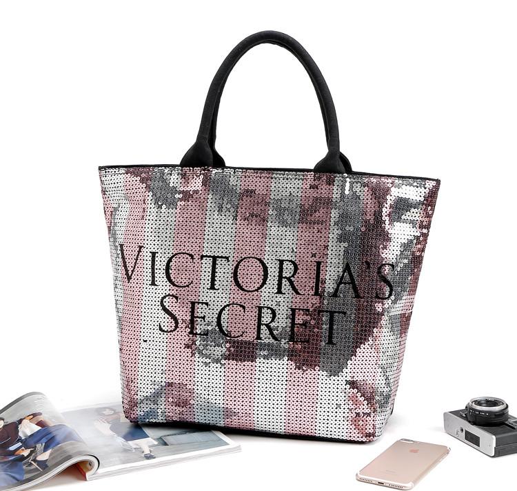 Сумка женская пляжная, городская, спортивная Victoria s Secret (Виктория Сикрет) VS65