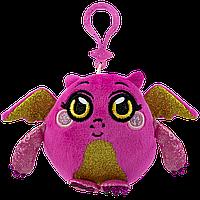 Мягкая игрушка-антистресс MUSHMEEZ - ОТВАЖНЫЙ ДРАКОН (6 cm, на клипсе)