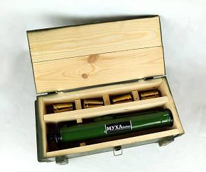 «Наповал» в деревянном ящике - крутой подарок мужчине, военному, военнослужащему