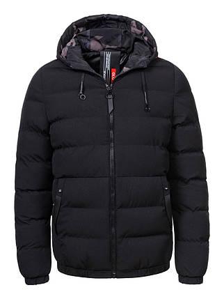 Оригинальный Пуховик/Куртка Мужская MMA-8505 Black Черная, фото 2