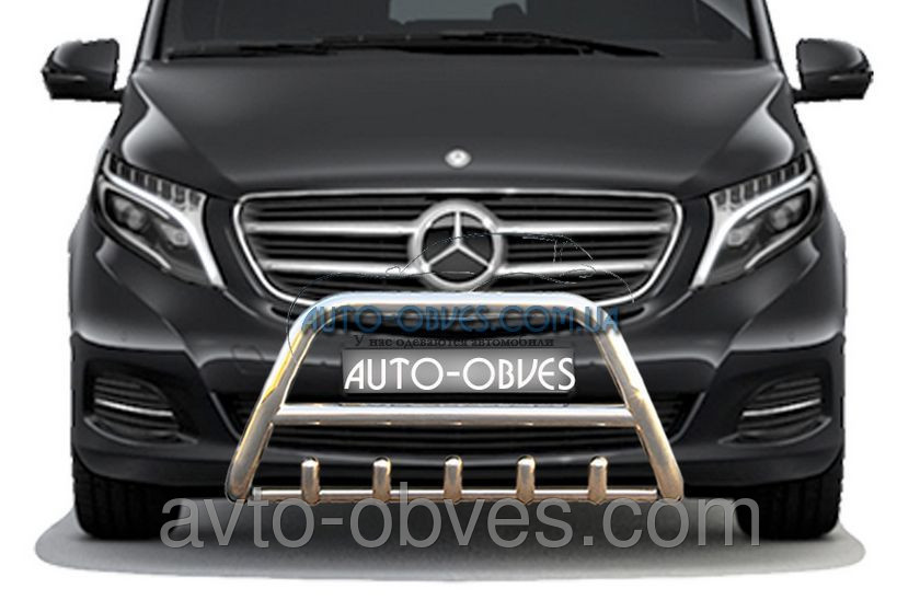 Установка защитного обвеса для Mercedes-Benz Vito III / V-klass W447
