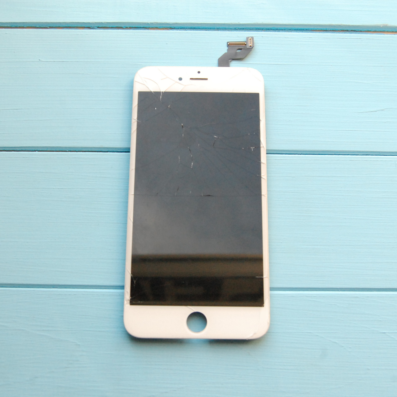 Original cracked glass LCD Apple iPhone 6S Plus