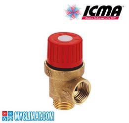 Аварийный предохранительный клапан ICMA от 1,5 до 10 бар