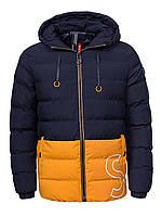 Оригинальная Куртка Двухсторонняя Мужская MMA-9161 Blue/Yellow