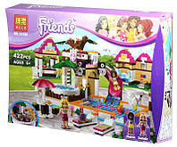 """Конструктор Bela 10160 Friends """"Городской бассейн Хартлейк Сити"""" (Аналог LEGO Friends 41008), 422 дет"""