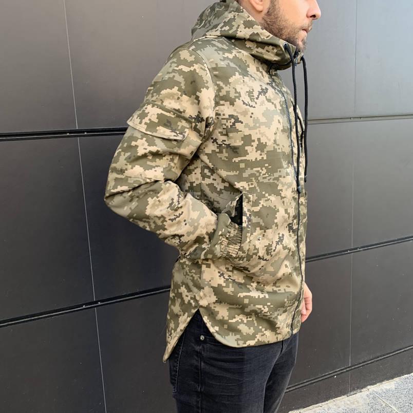 Куртка демисезонная Off White military , Камуфляж, Штормовка, Ветровка весна-осень, фото 2