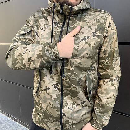 Куртка демисезонная Off White military , Камуфляж, Штормовка, Ветровка весна-осень, фото 3