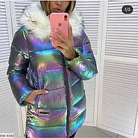 Женская куртка зимняя пальто размеры 42 44 46  есть цвета