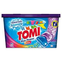 Капсулы для стирки цветного Tomi Max Power Color 14 капс.