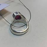 Рубин необычное кольцо с камнем рубин размер 18,3. Кольцо с рубином Индия!, фото 8
