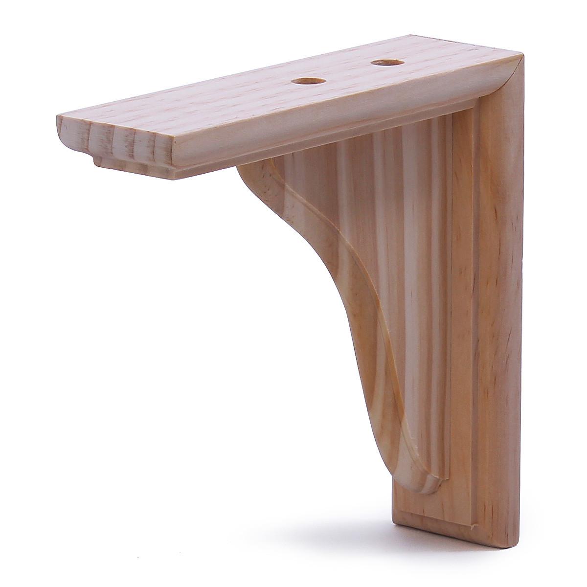 Деревянный кронштейн Larvij 150x35x150 мм Сосна (L5300)