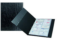 Визитница на 200 визиток, на кольцах Axent Xepter 2504-01-А