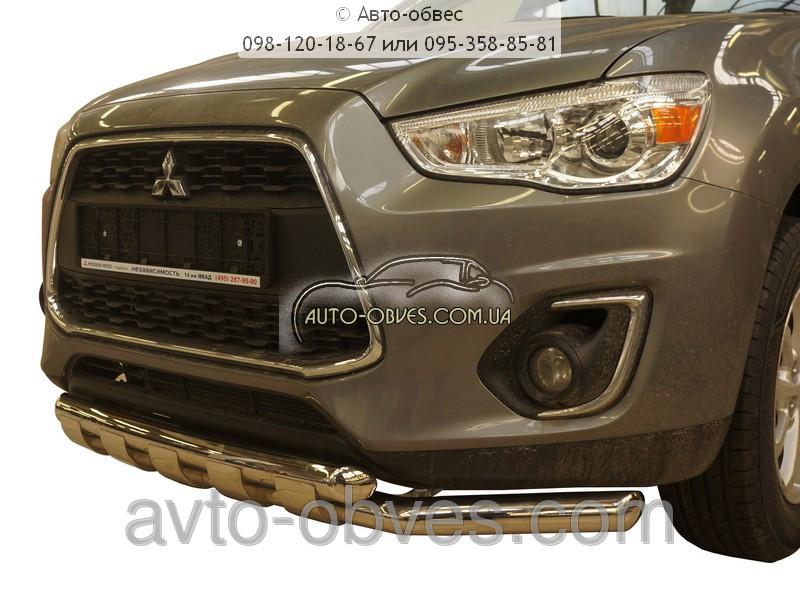 Установка защитного обвеса для Mitsubishi ASX 2011-2014-..