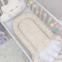 Кокон Маленькая Соня Baby Desing Stars Звезды на шоколадном детский арт.5019374