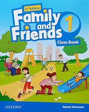 Family and Friends 2nd (second) Edition 1 Class Book (учебник/підручник 2-е издание)
