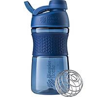 Бутылка-шейкер спортивная BlenderBottle SportMixer Twist 590ml Navy, original R144931