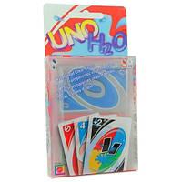 Настольная карточная игра Uno H2O Уно, пластик