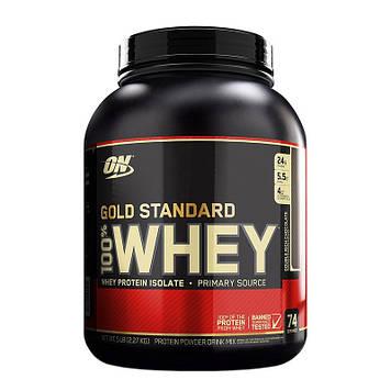Протеин сывороточный Оптимум Нутришн Вей Голд Стандарт / Optimum Nutrition 100% Whey Gold Standard   2,3 кг