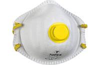 Маска респиратор Topex 82S132, 1 клапан FFP2, 2 шт. (82S132)