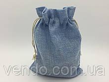 Чехол для карт таро, мешочек 14х19 см. Голубой