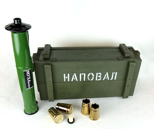 «Наповал» в деревянном ящике - крутий подарунок чоловіку, військовому, військовослужбовцю
