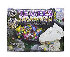 Набор для проведения раскопок JEWELS EXCAVATION, Натуральные камни (рус)