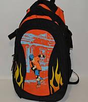 Рюкзак для тренировок и школы. Оригинальный дизайн.
