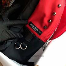 Рюкзак в стиле Dolce&Gabbana Красный, фото 2