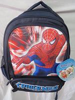 """Школьный рюкзак для мальчика """"Человек паук"""". Оптом."""