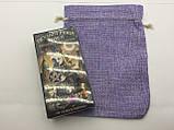 Чехол для карт таро, мешочек 14х19 см. Сиреневый., фото 3