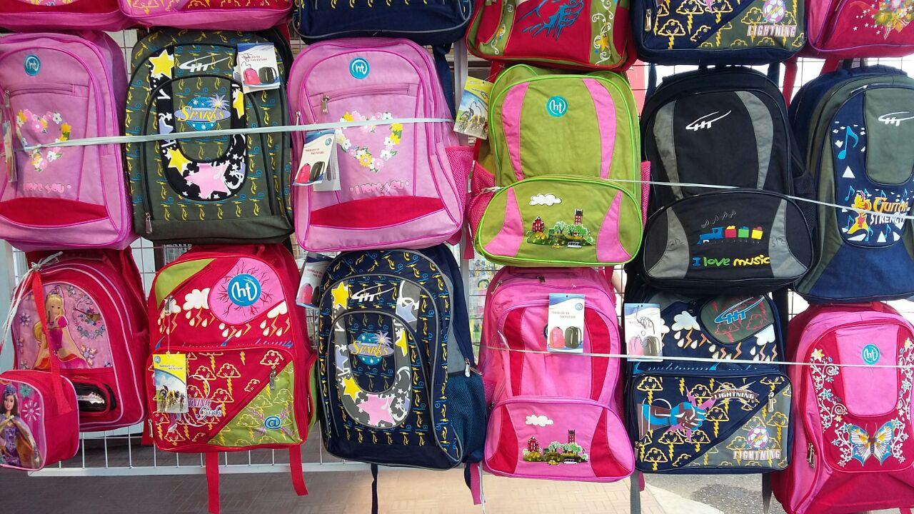 Разные виды рюкзаков.