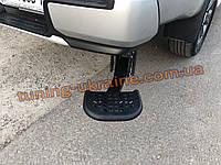 Подножка боковая задняя для Fiat Fullback 2016+ Задняя подножка для кузова пикапа на Фиат Фулбек 2016-2019