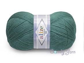 Alize LanaGold 800,  Античный зеленый №507
