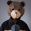 Маска Мишка papercraft 1-детская