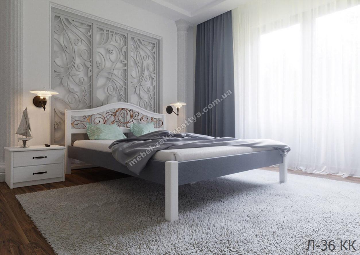 Кровать деревянная Л-36 КК