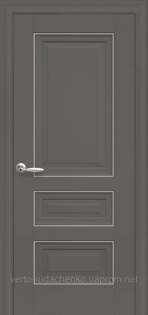 Двери коллекции Элегант модель Статус Декор Антрацит