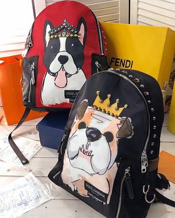 Рюкзак в стиле Dolce&Gabbana Чёрный, фото 2